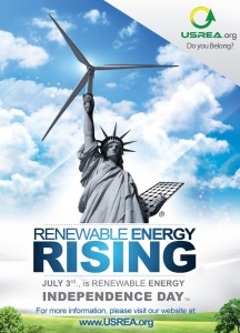 Earth Day and Renewable Energy Independence Day