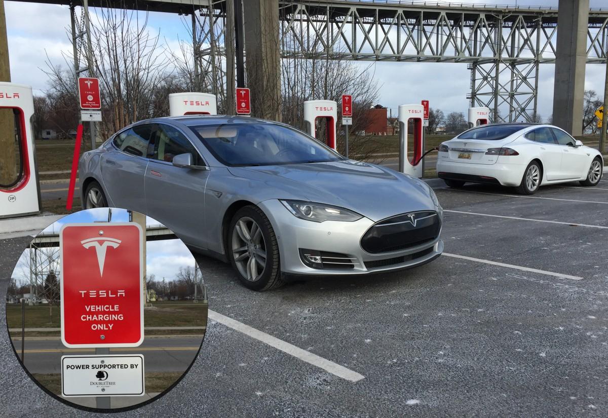Tesla at DoubleTree